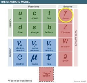 The fundamental particles
