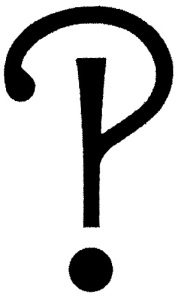 This interrobang is not in comic sans.